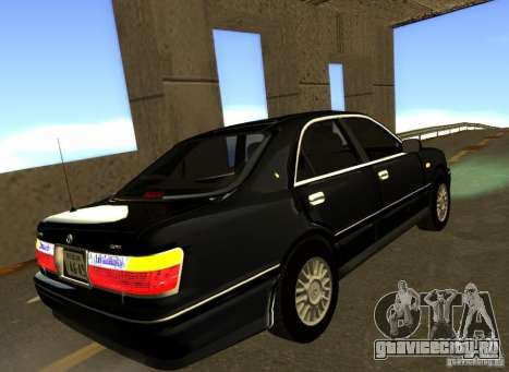 Toyota Crown Majesta S170 для GTA San Andreas вид справа