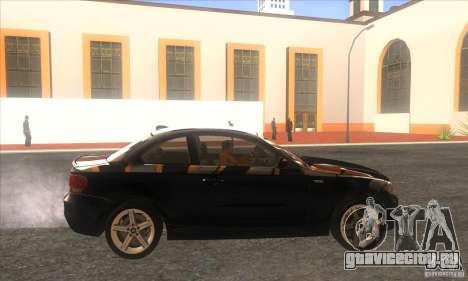 BMW 135i (E82) для GTA San Andreas вид слева