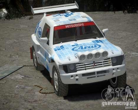 Mitsubishi Pajero Proto Dakar EK86 винил 3 для GTA 4 вид слева