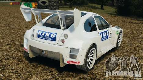 Colin McRae KING Rallycross для GTA 4 вид сзади слева