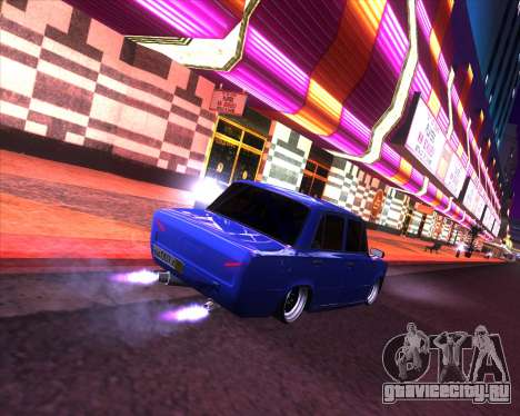 ВАЗ 2101 Drift Car для GTA San Andreas вид слева