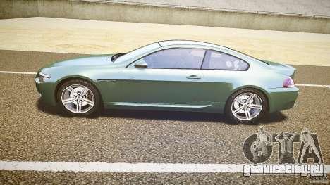 BMW M6 v1.0 для GTA 4 вид сзади слева