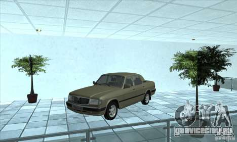 ГАЗ 3110 для GTA San Andreas вид сзади слева