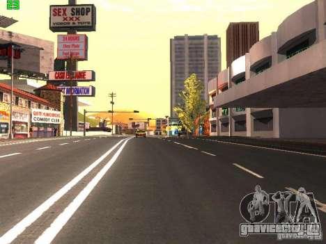 Roads Moscow для GTA San Andreas