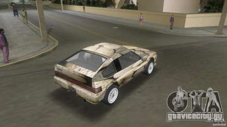 Blista rock stone stock для GTA Vice City вид слева