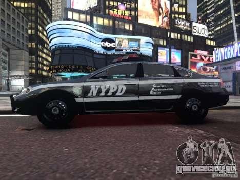 Chevrolet Impala 2006 NYPD Traffic для GTA 4 вид сзади