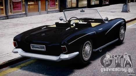 FSO Syrena Sport 1960 для GTA 4 вид сзади слева