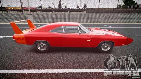 Dodge Charger Daytona 1969 [EPM] для GTA 4 вид изнутри