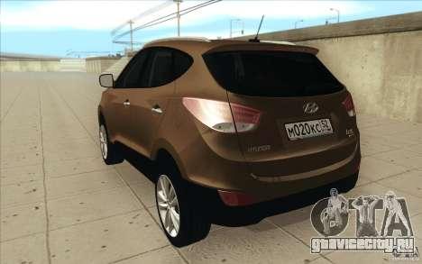 Hyundai ix35 для GTA San Andreas вид справа