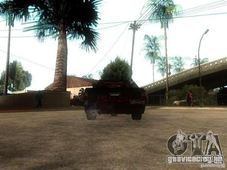 Isuzu D-Max для GTA San Andreas вид сзади слева