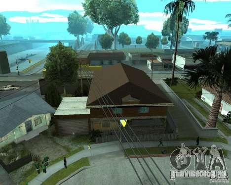 Новый дом CJя для GTA San Andreas четвёртый скриншот