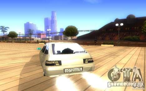 ВАЗ 2112 LT для GTA San Andreas вид сбоку