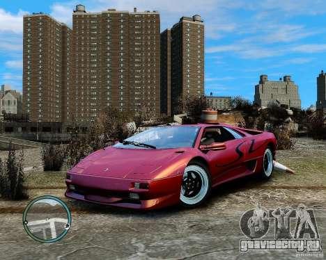 Lamborghini Diablo SV 1997 EPM v.2.3 для GTA 4