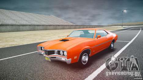 Mercury Cyclone Spoiler 1970 для GTA 4 вид сзади