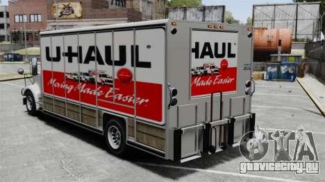 Грузоперевозки U-Haul для GTA 4 четвёртый скриншот