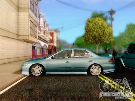 Honda Accord 2001 для GTA San Andreas вид справа