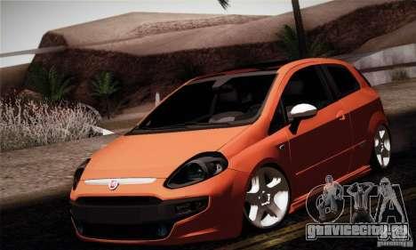 Fiat Punto Evo 2010 Edit для GTA San Andreas