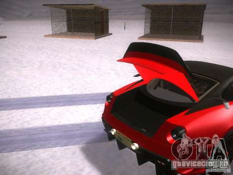 Ferrari 599XX для GTA San Andreas вид сбоку