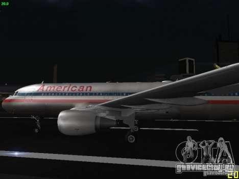 Airbus A320 для GTA San Andreas вид слева