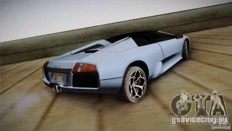 Lamborghini Murcielago Roadster для GTA San Andreas вид слева