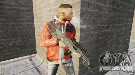 RSASS из MW3 (снайперка) для GTA 4