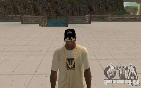 Кепка jaguar для GTA San Andreas второй скриншот