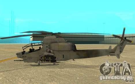 Cobra для GTA San Andreas вид сзади слева