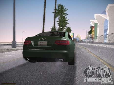 Audi RS6 2009 для GTA San Andreas вид слева