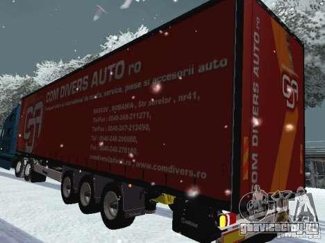Прицеп к  Volvo VNL 670 для GTA San Andreas