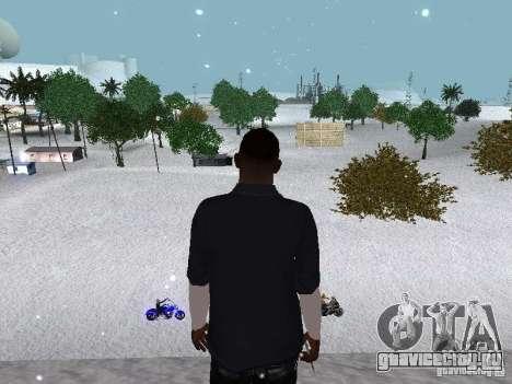 Snow MOD 2012-2013 для GTA San Andreas одинадцатый скриншот
