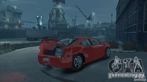 Dodge Charger 2007 SRT8 для GTA 4 вид сверху