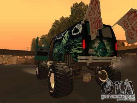 Ford Grave Digger для GTA San Andreas вид слева