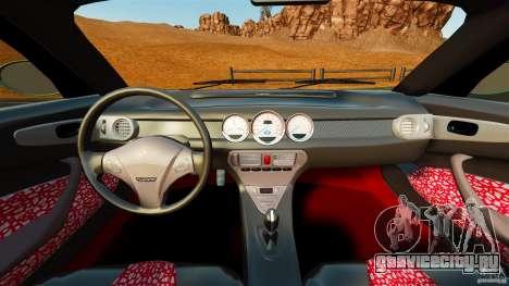 Daewoo Joyster Concept 1997 для GTA 4 вид сзади