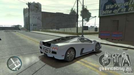Shelby Super Cars Ultimate Aero для GTA 4 вид слева