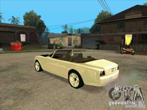 GTA 4 TBOGT Super Drop Diamond для GTA San Andreas вид сзади слева