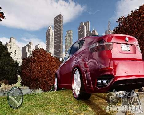 BMW X6M Lumma для GTA 4 вид справа