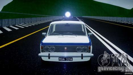 Fiat 125p Polski Milicja для GTA 4 вид снизу