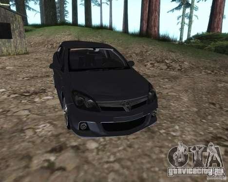 Vauxhall Astra VXR для GTA San Andreas вид справа