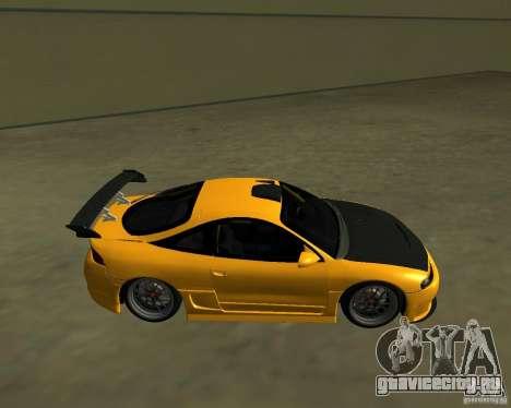 Mitsubushi Eclipse GSX tuning для GTA San Andreas вид слева