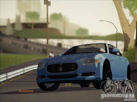 Maserati Quattroporte v3.0 для GTA San Andreas