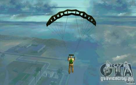 Военный парашют для GTA San Andreas второй скриншот