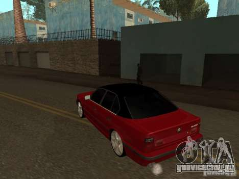 BMW 540i E34 для GTA San Andreas вид справа