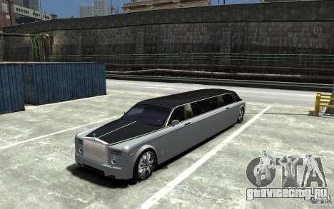 Rolls-Royce Phantom Sapphire Limousine v.1.2 для GTA 4