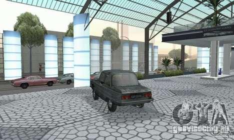 ЗАЗ 968м побитый для GTA San Andreas вид слева