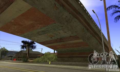 Grove Street Retextured для GTA San Andreas четвёртый скриншот