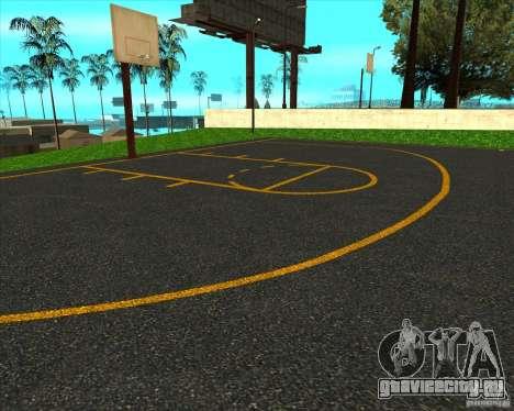 HQ Баскетбольная площадка для GTA San Andreas