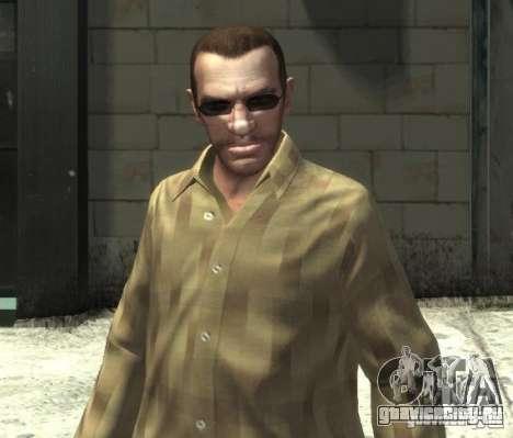 Новые очки для Нико - темные для GTA 4