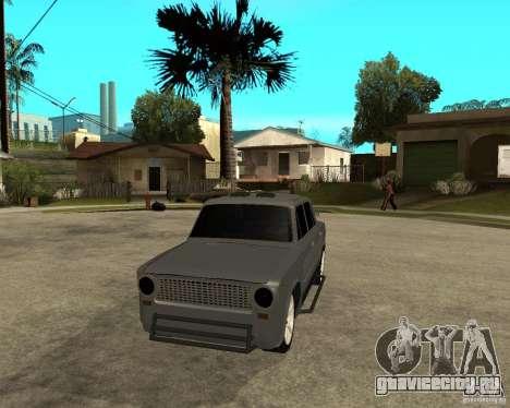 ВАЗ 2101 Hard tuning для GTA San Andreas вид сзади