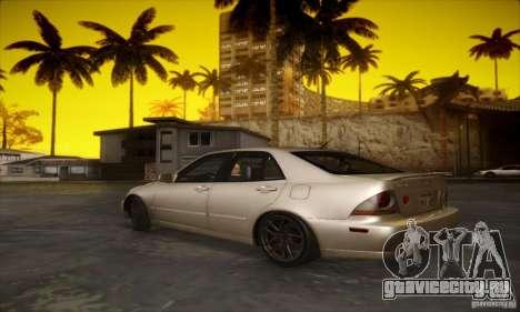 Lexus IS 300 для GTA San Andreas вид справа