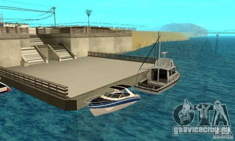 GTAIV Tropic для GTA San Andreas вид сверху